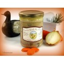 Canard aux girolles sauce foie gras (2 parts) - 600g env.