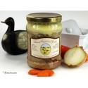Canard aux girolles sauce foie gras (4 parts) - 900g env.