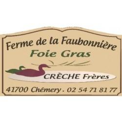 Confit de canard aux haricots (2 parts) 750g