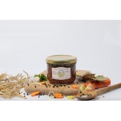 Saucisses de canard aux lentilles (1 part) - 375g env.
