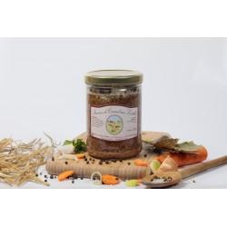Saucisses de canard aux lentilles (2 parts)  750g