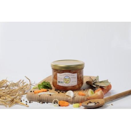 Saucisses de canard aux haricots (1 part) 375g