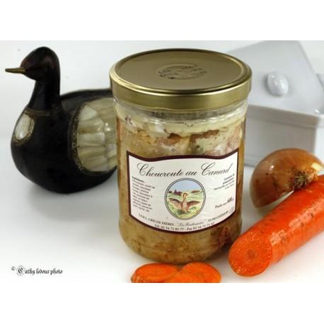 Choucroute de canard 600g