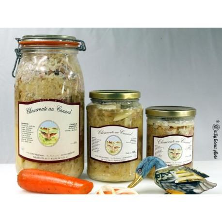 Choucroute de canard - 1400g