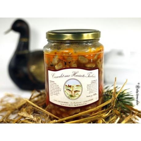 Cassoulet aux haricots Tarbais - 1400g